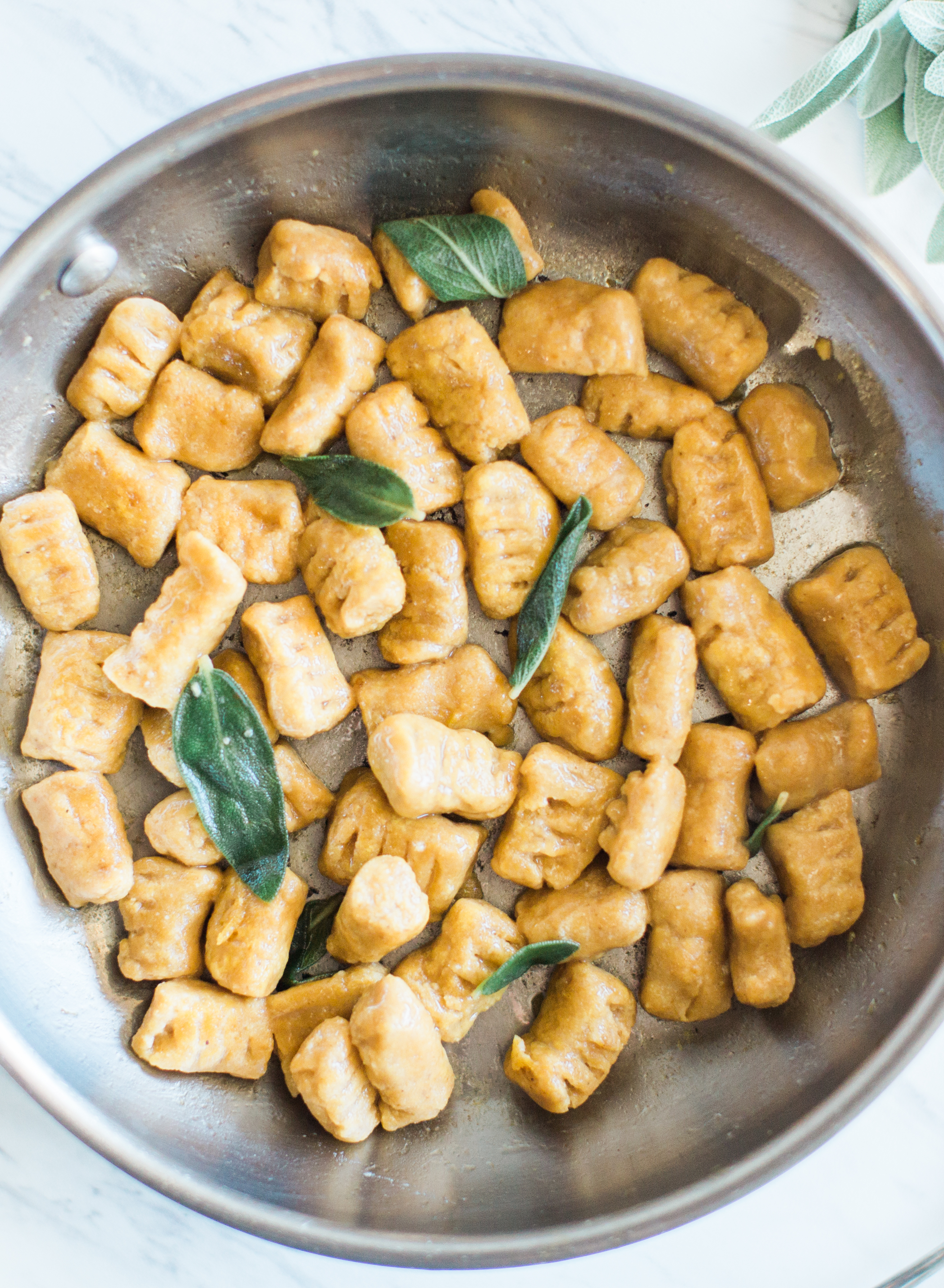 Paleo Pumpkin Gnocchi | Her Heart and Table | Paleo Food Blog